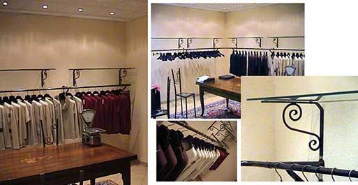 Produzione vendita stender per abbigliamento dm carpi modena for Negozi arredamenti napoli