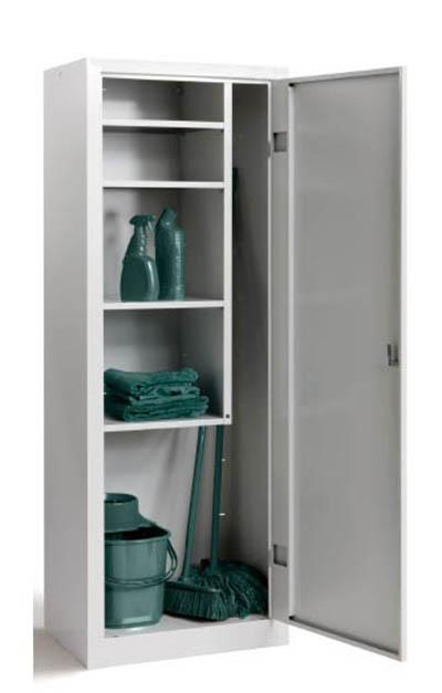 Produzione vendita armadi porta scope e accessori pulizia - Armadi in metallo ikea ...