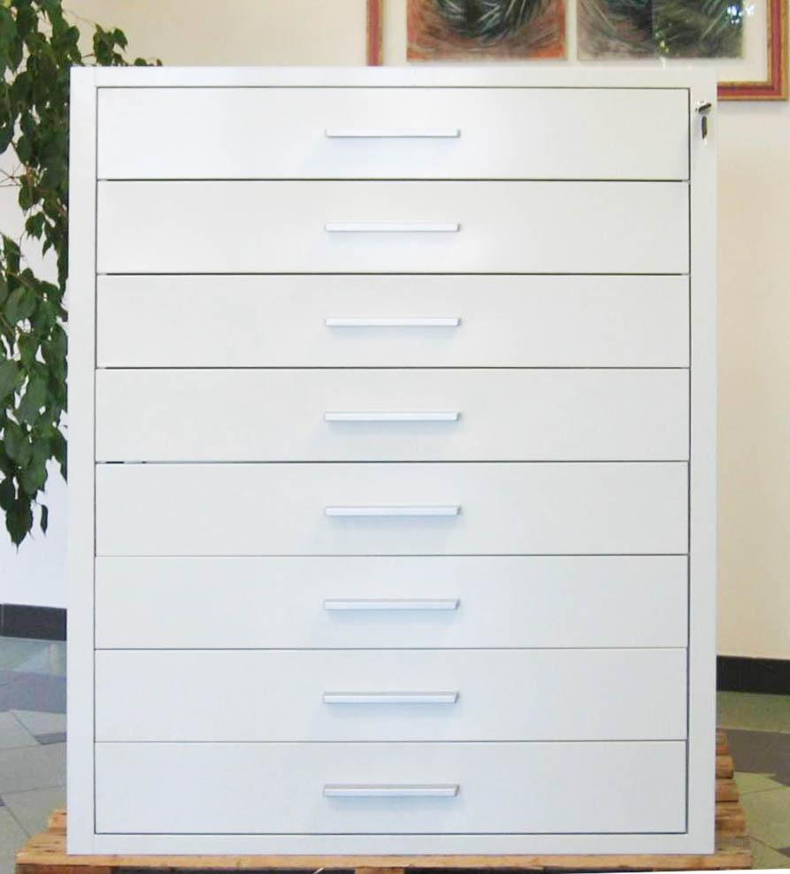 Perfect cassettiera di sicurezza a cassetti con maniglia - Cassettiere ufficio ...