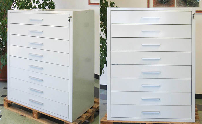 Mobili per ufficio ecologici design casa creativa e - Cassettiere ufficio ...