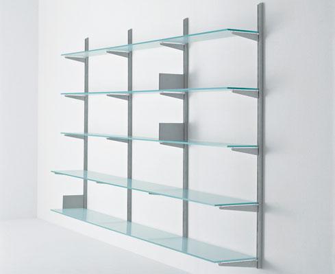 produzione librerie metalliche da parete