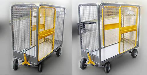 Produzione vendita carrelli vagoncino con gancio traino for Magazzino mobili