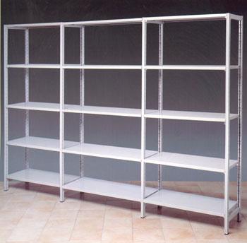 Scaffalature Metalliche Componibili Bari.Produttore Scaffali Modulari Componibili Per Garage E Box