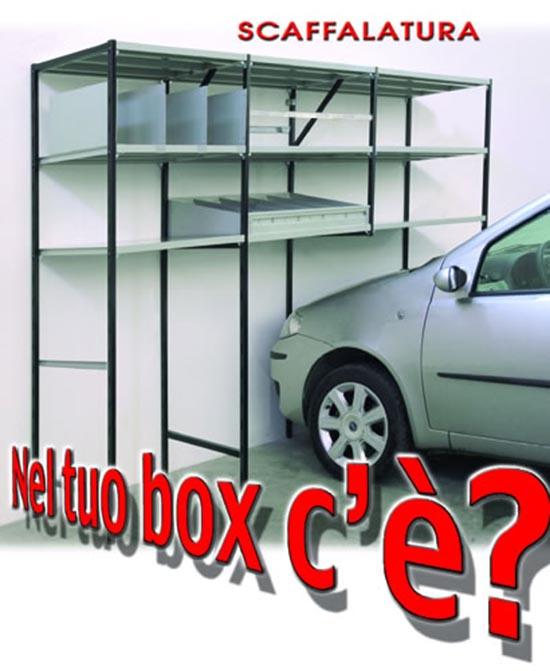 Produttore scaffali modulari componibili per garage e box for Garage per auto modulari 3