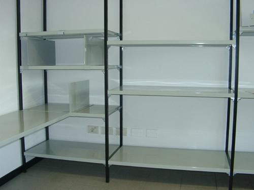 Cool produttore scaffali modulari componibili per garage e for Ikea scaffali usati