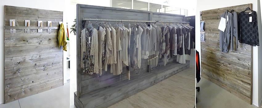 Realizzazione stender design per arredamento negozi for Negozio di metallo con appartamento
