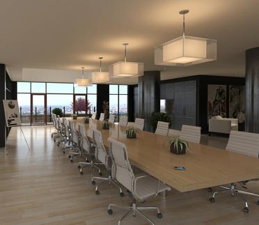 Produzione e fornitura di grandi tavoli per sala riunioni for Sala riunioni