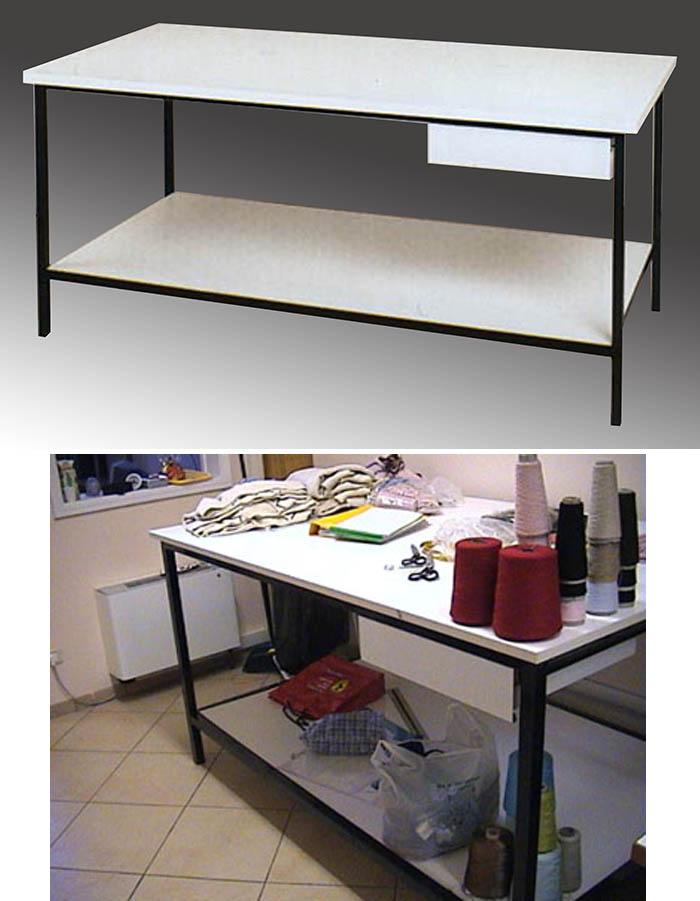 Produzione vendita tavoli da lavoro personalizzati e da - Tavoli da disegno usati ...