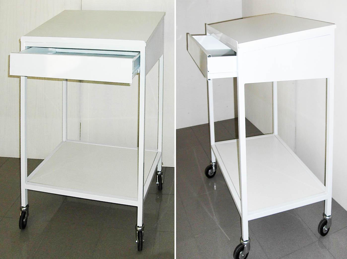 DM Carpi Modena Produzione vendita tavoli da lavoro con ruote antitraccia