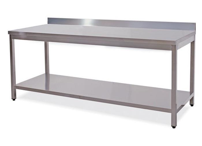 Dm carpi modena produzione vendita tavoli metallici da - Tavolo da lavoro con ruote ...