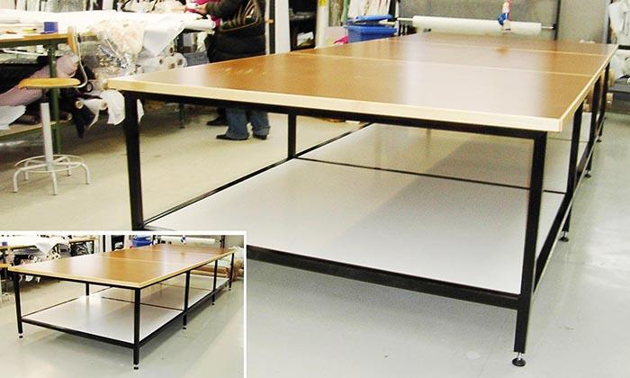 Tavoli Da Pranzo Grandi.Produzione E Vendita Di Grandi Tavoli Da Taglio Per Abbigliamento E