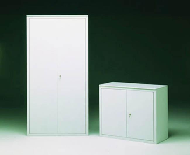 Armadio Ufficio Bianco : Produzione e vcendita mobili armadio in metallo per uffici