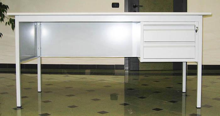 Produzione e vendita scrivanie ergonomiche con cassettiere
