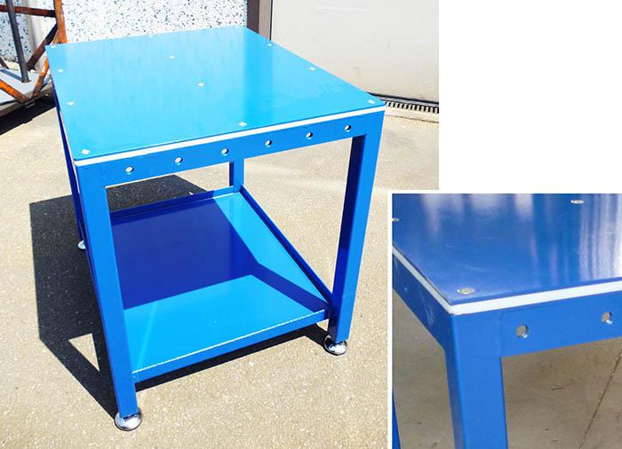 Dm produzione arredamenti industriali e aziendali negozi - Tavolo da lavoro con ruote ...